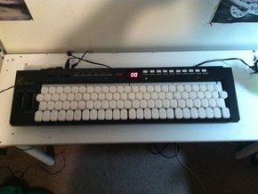 MK149 whole tone keyboard adaptor in White Strong & Flexible