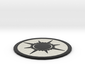 Orzhov Coaster in Full Color Sandstone