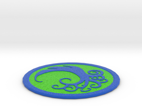 Simic Coaster in Full Color Sandstone