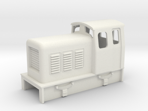 009 chunky diesel loco  in White Strong & Flexible