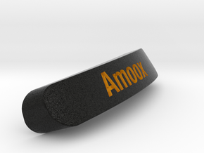 Amoox Nameplate for SteelSeries Rival in Full Color Sandstone