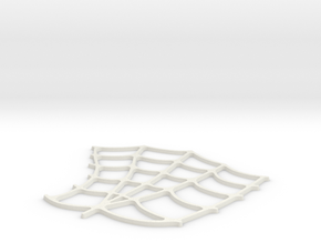 Spider-Man Left Palm Webbing (fits kenlandrum prin in White Strong & Flexible