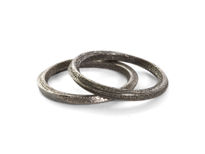 Mobius Ring in Stainless Steel