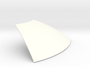 Periscope pie panel in White Strong & Flexible Polished