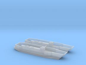 1/600 LCU1610 - Landing Craft Utility (x2) in Frosted Ultra Detail