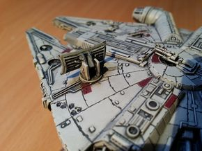 Millennium Falcon Dish  (The Force Awakens)  in Frosted Ultra Detail