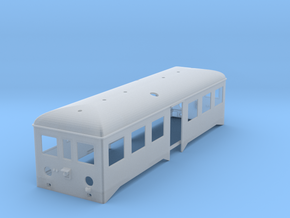 Caisse remorque autorail in Frosted Ultra Detail