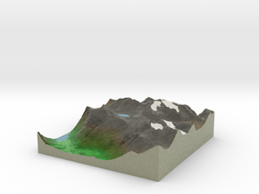Terrafab generated model Mon Dec 15 2014 12:02:07  in Full Color Sandstone