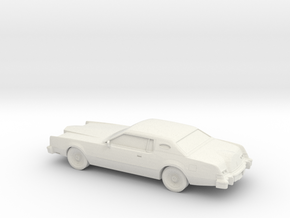 1/87 1974 Lincoln Mark IV in White Strong & Flexible
