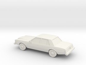 1/87 1980-83 Dodge Diplomat in White Strong & Flexible