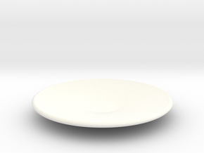 Large plate 1/12 in White Strong & Flexible Polished