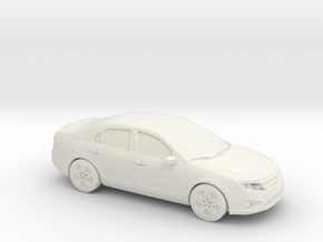 1/87 2010 Ford Fusion SEL in White Strong & Flexible