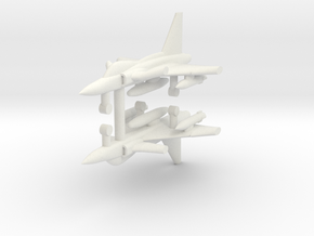 1/285 SAAB JAS 39 Gripen (x2) in White Strong & Flexible
