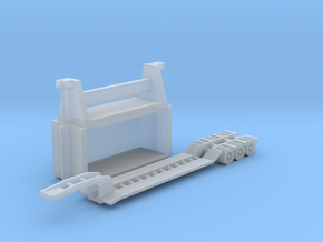 N Scale Car Crusher PLUS Trailer in Frosted Ultra Detail