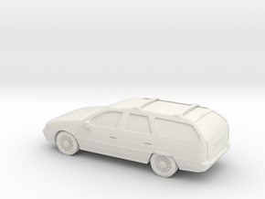 1/87 1990 Ford Taurus Wagon in White Strong & Flexible