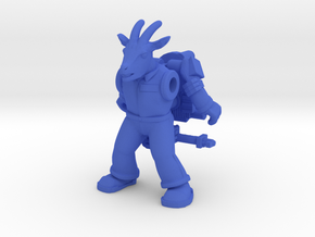 Bleater Venkram Ghoatbuster Figure (Plastic) in Blue Strong & Flexible Polished