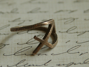 Sagittarius Symbol Ring - Sagittarius Zodiac Ring in Stainless Steel