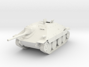 PV59B Jagdpanzer 38t (Open Hatch) (28mm) in White Strong & Flexible