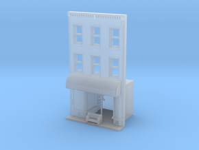 Esthers N Scale Building Front in Frosted Ultra Detail
