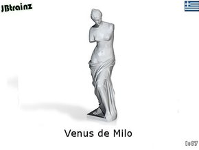 Venus de Milo (1:87) in White Strong & Flexible Polished