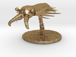 Anomalocaris in Polished Gold Steel