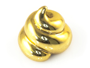 Lucky Golden Poo in 18K Gold Plated