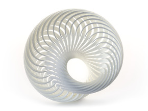 Mobius Nautilus in White Strong & Flexible