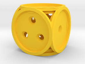 Dice132 in Yellow Strong & Flexible Polished