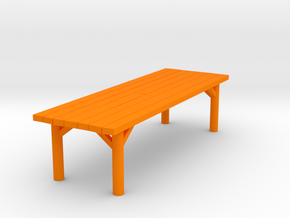 Tavern Table Medium test in Orange Strong & Flexible Polished