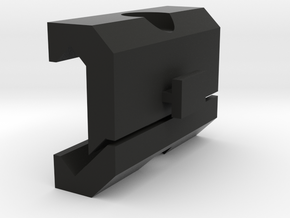 Car DVR Picatinny Mount Adapter in Black Strong & Flexible