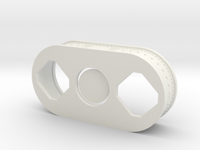 F1 Engine 1:10 Interface Panel in White Strong & Flexible