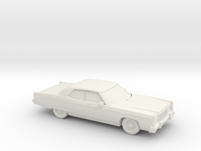 1/87 1974 Lincoln Continental in White Strong & Flexible