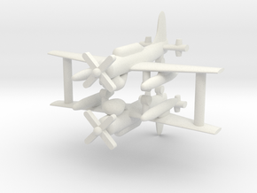 1/285 AD-4W (AEW.1) Skyraider (x2) in White Strong & Flexible