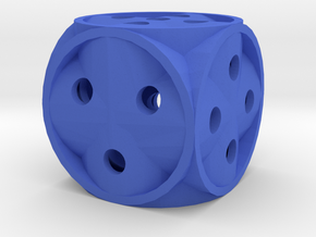 Dice136 in Blue Strong & Flexible Polished