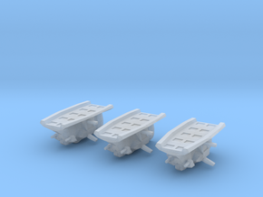 """Taiidan """"Heeshk"""" Support Frigates (3) in Frosted Ultra Detail"""