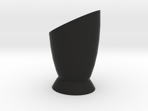 Vase 2 in Black Strong & Flexible