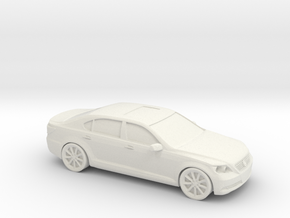 1/87 2007 Lexus LS460L  in White Strong & Flexible
