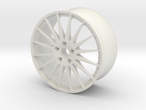 "OZ WRC 20""x9J 5x114mm (1:8) in White Strong & Flexible"