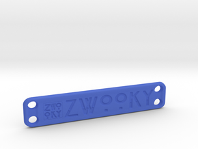 ZWOOKY Style 22 Sample - clothes tag in Blue Strong & Flexible Polished