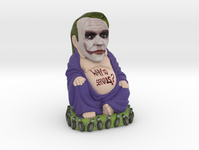 JokerBuddha aka Joker Buddha in Full Color Sandstone