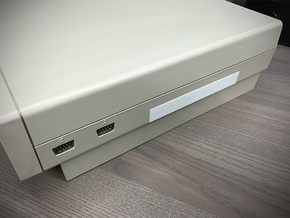 Expansion Slot Cover compatible to Amiga 1000 in White Strong & Flexible