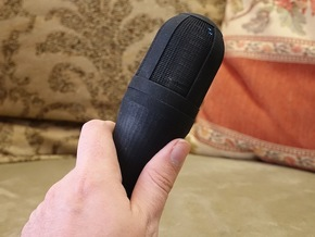 Handheld Microphone Adapter For Sony ECM-AW3 V-2.0 in Black Strong & Flexible