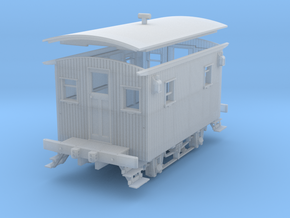 S Scale 1/64 Ulster and Delaware bobber caboose 12 in Frosted Ultra Detail