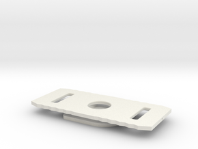 Belted Track Connector, Hot Wheels Compatable in White Strong & Flexible