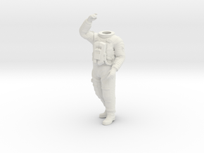 2001 Lunar Astronaut / Pos. 4 / 1:24 in White Strong & Flexible