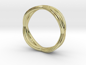 Anillo basico in 18K Gold Plated