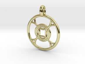 Leda pendant in 18K Gold Plated