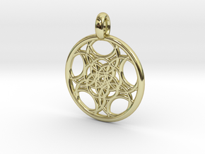 Euanthe pendant in 18K Gold Plated