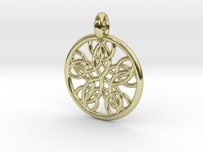 Isonoe pendant in 18K Gold Plated