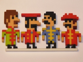 Beatles iotacons (Sgt. Pepper) in Full Color Sandstone